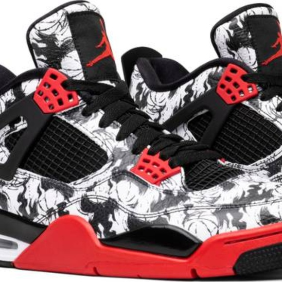 "8dd541816451fb Nike Air Jordan Retro 4 IV ""Tattoo"" Singles Day 14"